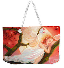 Dreams Of Strawberry Moon Weekender Tote Bag
