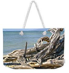 Driftwood II Weekender Tote Bag by Patricia Griffin Brett