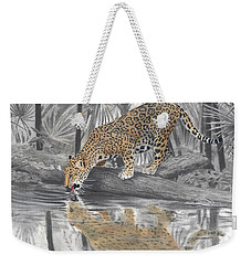 Drinking Jaguar Weekender Tote Bag