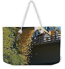 Dumping The Ducks Weekender Tote Bag