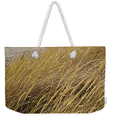 Weekender Tote Bag featuring the photograph Dune Grass On The Oregon Coast by Mick Anderson
