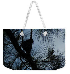 Weekender Tote Bag featuring the photograph Dusk by Joseph Yarbrough