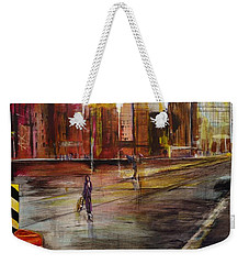 Early Sunday Morning Weekender Tote Bag