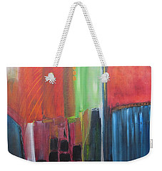 Earth Layers Weekender Tote Bag