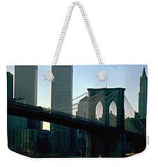East River Tugboat Weekender Tote Bag