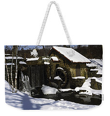 Eastern University Waterwheel Historic Place Weekender Tote Bag