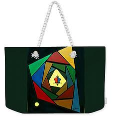 Eccentric Weekender Tote Bag