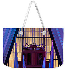 Echo Of The Pipes Weekender Tote Bag