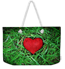 Eco Heart Weekender Tote Bag