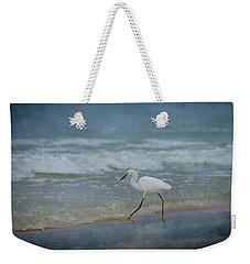 Egret Weekender Tote Bag by Sandy Keeton