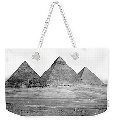 Egyptian Pyramids - C 1901 Weekender Tote Bag by International  Images