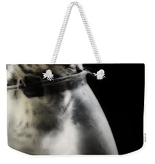 Weekender Tote Bag featuring the photograph El Kitty by Jessica Shelton