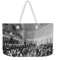 Electoral Commission 1877 Weekender Tote Bag by Photo Researchers
