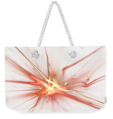 Weekender Tote Bag featuring the digital art Electric by Kim Sy Ok