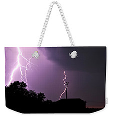 Electrifying Sky  Weekender Tote Bag