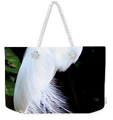 Elegant Egret At Water's Edge Weekender Tote Bag