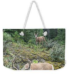 Elegant Elk Weekender Tote Bag