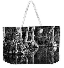 Weekender Tote Bag featuring the photograph Elephant Feet by Dan Wells