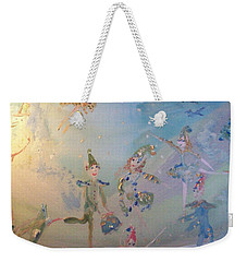 Elf The Musical Weekender Tote Bag by Judith Desrosiers