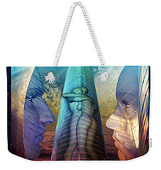Embrace Tower Weekender Tote Bag by Rosa Cobos