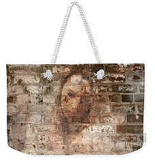 Weekender Tote Bag featuring the photograph Emotions- Self Portrait by Janie Johnson