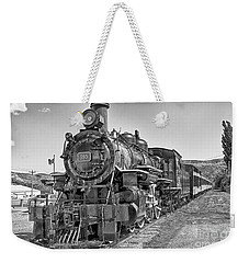 Engine 593 Weekender Tote Bag by Eunice Gibb