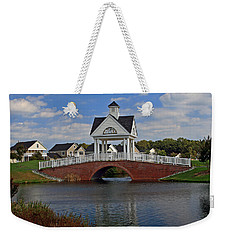 Weekender Tote Bag featuring the photograph Entrance by Karen Harrison