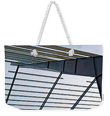 Weekender Tote Bag featuring the photograph Erector Set 2 by Tikvah's Hope