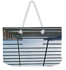 Weekender Tote Bag featuring the photograph Erector Set by Tikvah's Hope