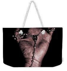 Weekender Tote Bag featuring the photograph Eternal Struggle by Lauren Radke