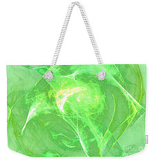 Weekender Tote Bag featuring the digital art Ethereal by Kim Sy Ok