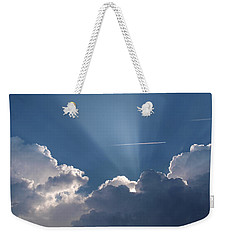 Even Through The Clouds You Will Find A Ray Of Sunshine Weekender Tote Bag