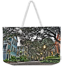 Evening Campus Stroll Weekender Tote Bag