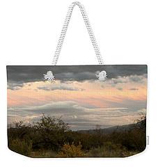 Evening In Tucson Weekender Tote Bag by Kume Bryant