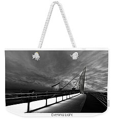 Weekender Tote Bag featuring the photograph Evening Light by Beverly Cash