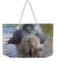 Excuse Me But I Am Bathing Here. Weekender Tote Bag