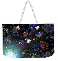 Exploding Star Weekender Tote Bag by Alec Drake