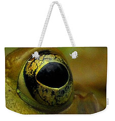 Eye Of Frog Weekender Tote Bag