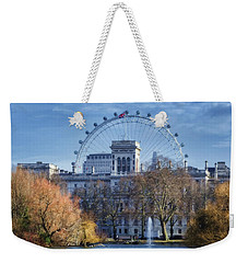 Eyeing The View Weekender Tote Bag by Joan Carroll