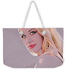 Eyes Of Beauty Weekender Tote Bag