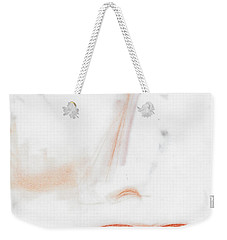 Weekender Tote Bag featuring the photograph Face by Vicki Ferrari