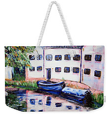 Factory On The River Weekender Tote Bag