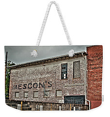 Faded Facade Weekender Tote Bag