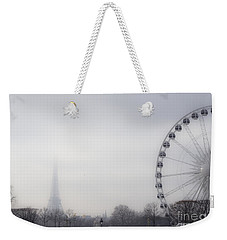 Weekender Tote Bag featuring the photograph Fading Away by Victoria Harrington