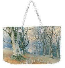 Fairies And Squirrels Weekender Tote Bag by Richard Doyle