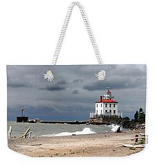 Fairport Harbor Beach Weekender Tote Bag