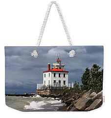 Fairport Harbor West Breakwater Lighthouse Weekender Tote Bag