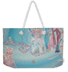 Fairy Godmother Convention Weekender Tote Bag by Judith Desrosiers