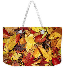 Fall  Autumn Leaves Weekender Tote Bag