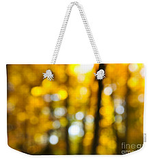 Fall Forest In Sunshine Weekender Tote Bag